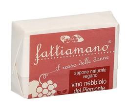 Sapone Naturale Vegano Vino Nebbiolo, Oliva e Rosmarino