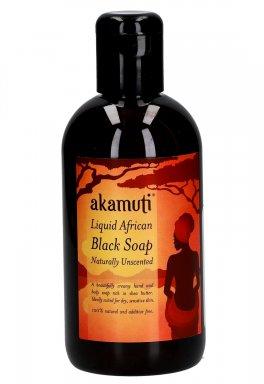 Akamuti - Sapone Nero Africano senza Profumo Liquido