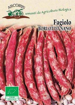 Semi di Fagiolo Borlotto Nano - 40 gr - BU015