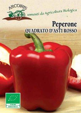 Semi di Peperone Quadrato d'Asti Rosso - 1 gr - BU025