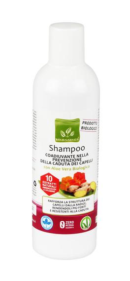 Shampoo Coadiuvante nella Prevenzione della Caduta dei Capelli