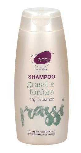 Shampoo Grassi e Forfora - Argilla Bianca