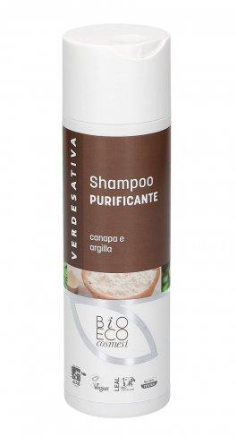 Shampoo Purificante - Canapa e Argilla