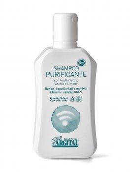 Shampoo Purificante con Argilla Verde, Vischio e Limone