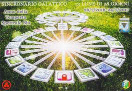 Sincronario Galattico 13 Lune di 28 Giorni 26/07/2016-24/07-2017