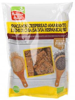 Snack Mini Crispbread Amaranto e Semi di Chia Bio