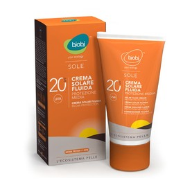 Sole - Crema Fluida Solare Protezione Media - SPF 20