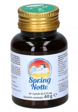 Spring Notte - Integratore di Magnesio, Biancospino, Escolzia e Melatonina