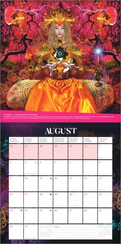 Calendario Capelli 2020.Starman Tarot Calendario 2020 Calendario