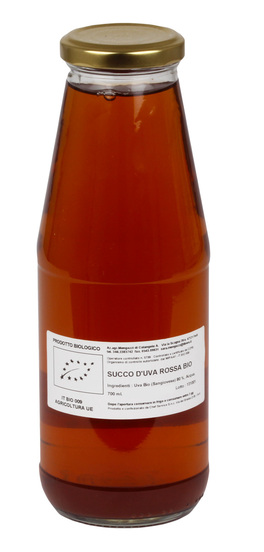 Succo d'Uva Rossa Bio