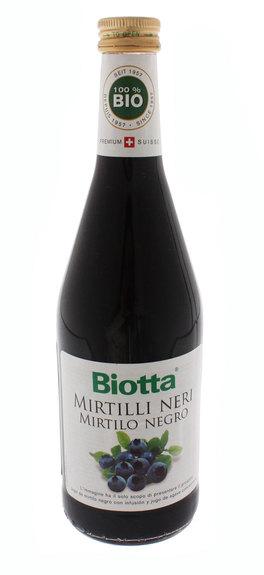 Succo di Mirtilli Neri