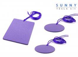 Sunny Tesla Plates - Piastre di Tesla Purpuree - Kit Amicizia