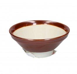 Suribachi - Mortaio in Ceramica - Grande - Diametro 18,5 cm