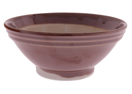Suribachi - Mortaio in Ceramica - Grande - Diametro 18,5 cm