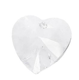 Swarovski Cristallo Cuore Bianco