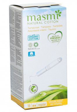Tamponi Assorbenti Interni Regular con Applicatore Biodegradabile