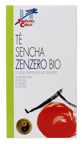 Tè Sencha Zenzero Bio