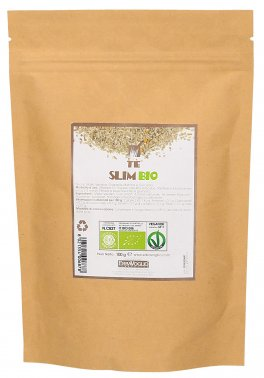 Tè Slim Bio - Tè con Mate, Spirulina, Guaranà, Matcha e Curcuma