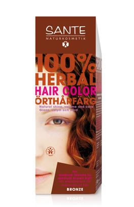 Tinta vegetale per capelli di sante naturkosmetik for Tinta per capelli sanotint
