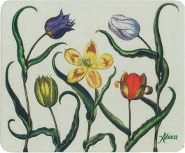 Tulipano - Flower Mouse Pad