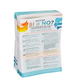 Vaccini Sì o No? - 100 Volantini