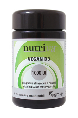 Vegan D3 1000 UI - Vitamina D3 Vegetale