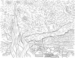 Vincent Il Tuo Album Di Van Gogh Da Colorare Libro Di Van Gogh