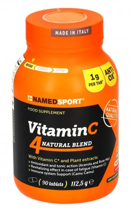 Vitamin C - 4 Natural Blend - Integratore in Compresse
