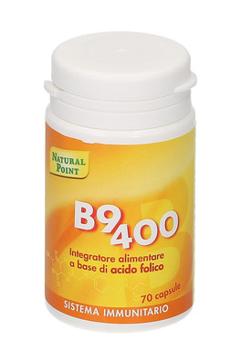 Vitamina - B9 400 Acido Folico