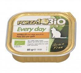 Vitello con Alga Spirulina - Patè Bio per Gatti