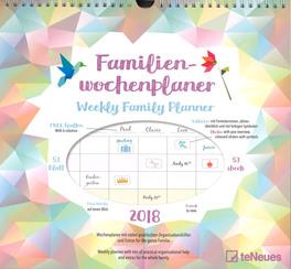 Weekly Family Planner - Origami - Calendario Familiare 2018