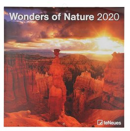 Wonders of Nature - Calendario 2020