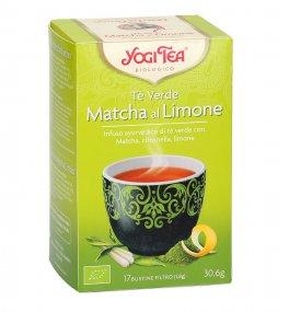 Yogi Tea - Tè Verde, Matcha al Limone