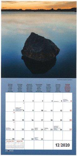 Calendario Fotografico 2020.Zen Calendario 2020 Calendario