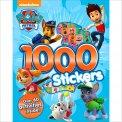 1000 Stickers - Paw Patrol - Libro