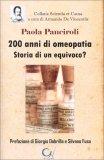 200 Anni di Omeopatia - Storia di un Equivoco — Libro