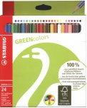 24 Pastelli Colorati - Green Colors