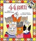 44 Gatti + CD — Libro