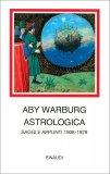 Aby Warburgh - Astrologia - Saggi e appunti 1908-1929 — Libro