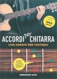 Accordi per Chitarra - Con Adesivi per Tastiera - Libro