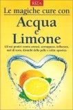 Le magiche Cure con Acqua e Limone — Libro
