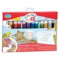 Aladine Colors - 12 Colori 3D