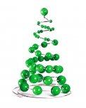 Albero di Natale a Molla - Verde