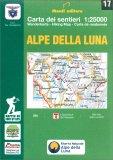 Alpe della Luna - Carta dei Sentieri n. 17 — Libro
