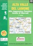 Alta Valle del Lamone - Carta dei Sentieri n. 22 — Libro