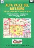 Alta Valle del Metauro - Carta Escursionistica n. 122 — Libro