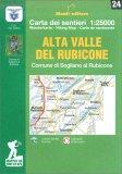 Alta Valle del Rubicone - Carta dei Sentieri n. 17 — Libro