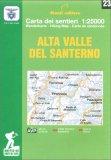 Alta Valle del Santerno - Carta dei Sentieri n. 23 — Libro