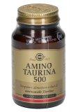 Amino Taurina 500 - Integratore di Amminoacido Taurina - Capsule Vegetali