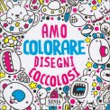 Amo Colorare Disegni Coccolosi — Libro